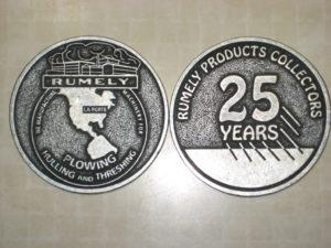 25th anniversary coin