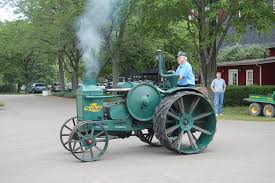 Antique Rumely Tractor