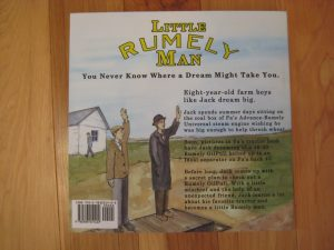 Little Rumely Man Book